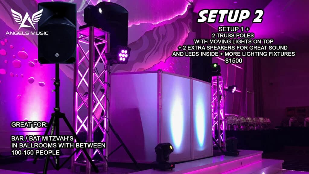 Angels Music Israeli jewish wedding DJ Los Angeles package 2, DJ deal setup 2, Angels Music Djs, Israeli Wedding DJ, Israeli DJ, Jewish DJ, Jewish wedding DJ, Party DJ, Wedding DJ Los Angeles, Bar Mitzvah DJ, MC, EmCee Bar Mitzvah, Party Motivator Los Angeles