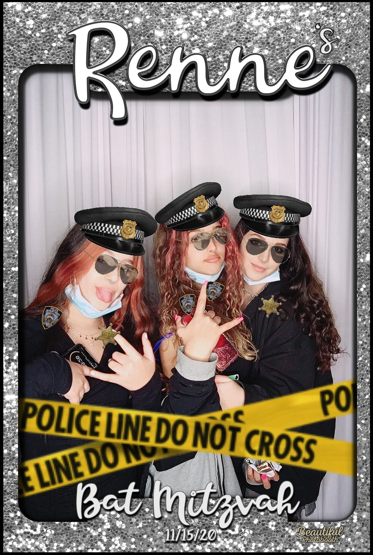 Renne's Bat Mitzvah Photo Booth Los Angeles 360 party booth rental Los Angeles California