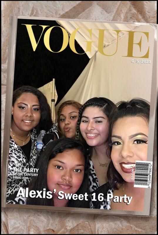 Alexis Photo Booth Gallery Los Angeles June 2021
