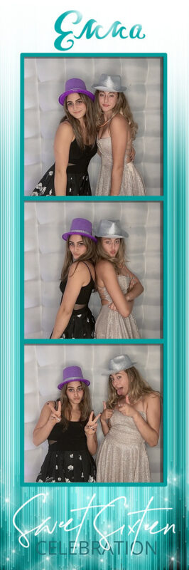 sweet 16 photo booth Los Angeles, Strips photo booth Los Angeles