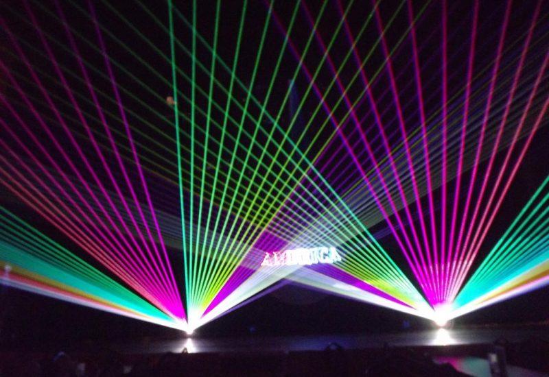 Laser Light rental Los Angeles