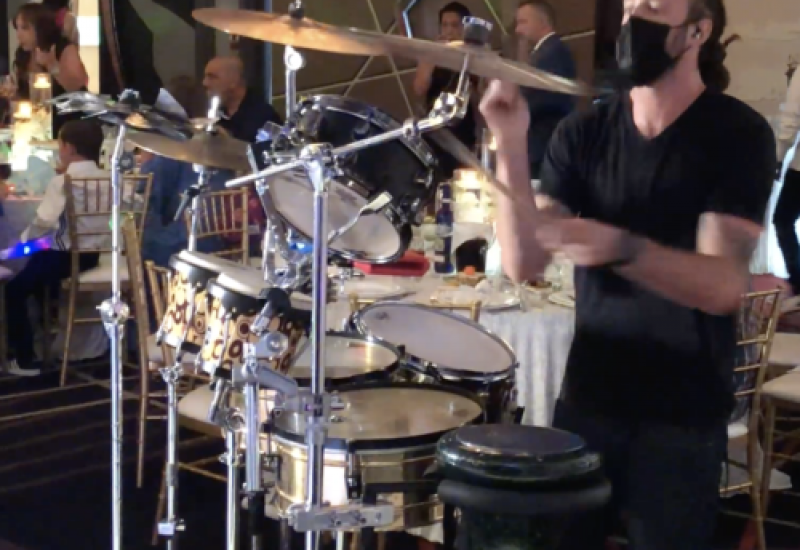 Drummer In Los Angeles, Wedding Drums, Drummer performer, Drums to hire, Drummer for party, Los Angeles Drummer for events